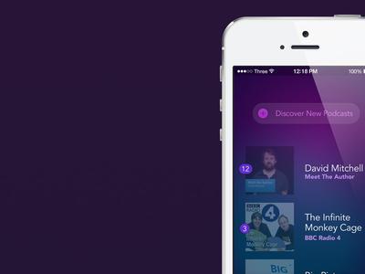 Podcast App podcast iphone list gif ios7 app apple