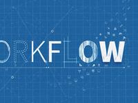 Workflow blueprint type illustration lines sketch grid