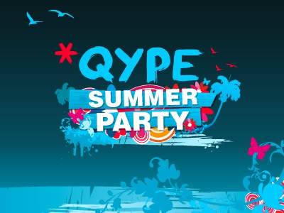 Qype Summer Party qype beach party ed lea