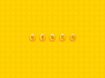Honey Iconset honey yellow soopsee theme icons twitter facebook rss etsy dribbble