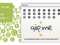 qiip.me home page