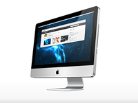 "iMac 27"" Vector - Free Download"