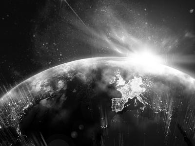 Data Visualisation earth data visualisation space typography