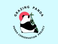 Grazing Panda - Panda Conservation Project