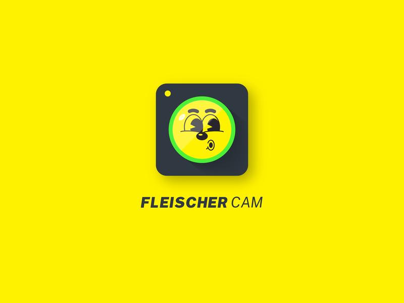 Fleischer Cam App illustrator app retro cartoon camera icon visualidentity brand graphicdesign brandidentity logoinspiration logoideas logoconcept logo designinspiration design dailylogochallenge concept branding brandideas