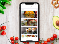 Recipes app for iOS