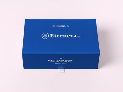 Eterneva Welcome Kit Packaging idenity packaging branding logo