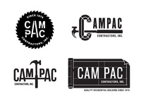 Cam Pac Construction Logo Concepts