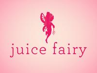 Juice Fairy Logo Concept