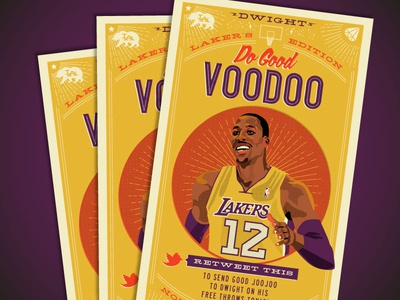 Throwback: The Dwight Lakers Voodoo Tarot Card