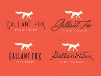Gallant Fox Logo Concepts