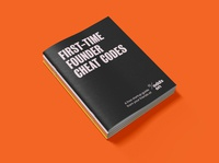 Odds On VC Startup Cheat Codes Booklet messaging collateral color logo system brand identity naming website typography hoodzpah design branding logo booklets booklet design