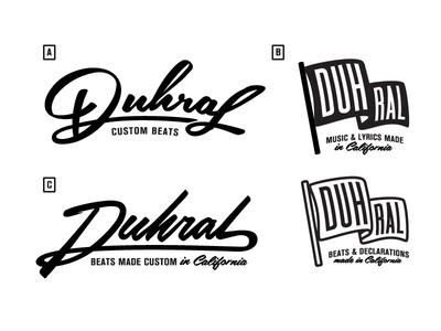 Duhral Logo Concepts