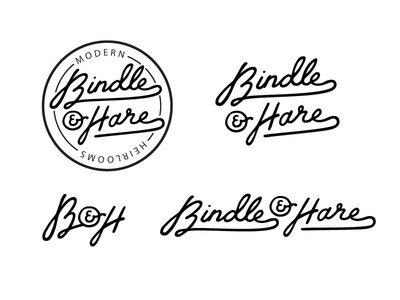 Bindle And Hare Logo Concept
