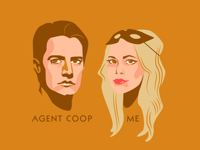 Agent Coop + Me Foreva