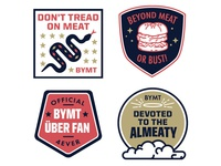 Beyond Meat Fan Badges