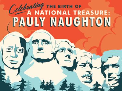 A National Treasure Birthday Poster