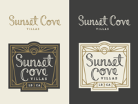 Sunset Cove Logo Concept