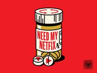 Need My Netfix Pin Design