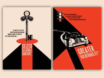 Film Noir Hacker Illustrations