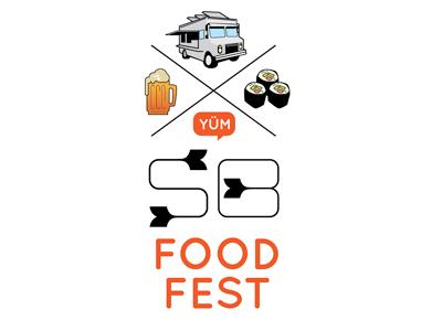 South Bay Food Fest Logo Option logo branding identity food festival california beer food truck vector illustration