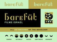 Barefut Logo and Identity Experimentation