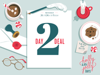 Holly Jolly Sale Day graphics