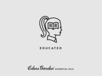 Edens Garden Essential Oil Value Icon: Educated