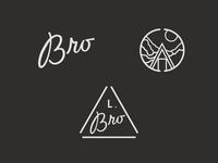 Bro logo and marks