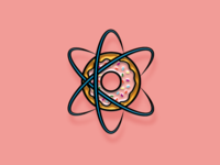 """Pinned"" Facebook Sticker: Atomic Sprinkles"