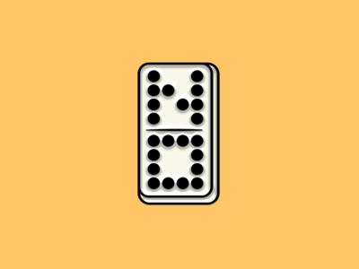 """Pinned"" Facebook Sticker: Domi-NO"