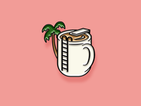 """Pinned"" Facebook Sticker: Paradise Joe"