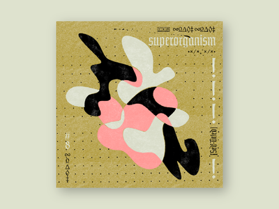 10x18 #8: Superorganism retro grit illustration abstract cover artwork cover art album cover music 10x18