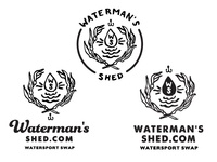 Waterman's Shed - More Logo Concepts