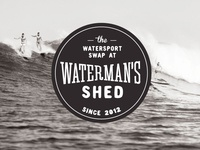 Waterman's Shed - yet another logo concept