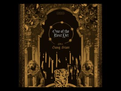 10x19  Gang Starr 10x19 collage rap gang starr music record album artwork album art