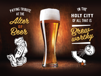 San Diego Beer Guide Progress Shot