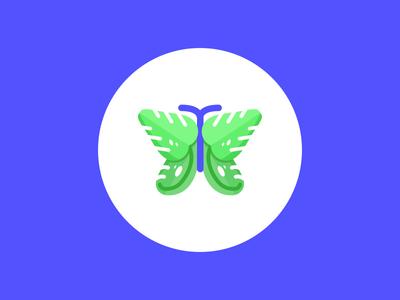 Monstera Butterfly