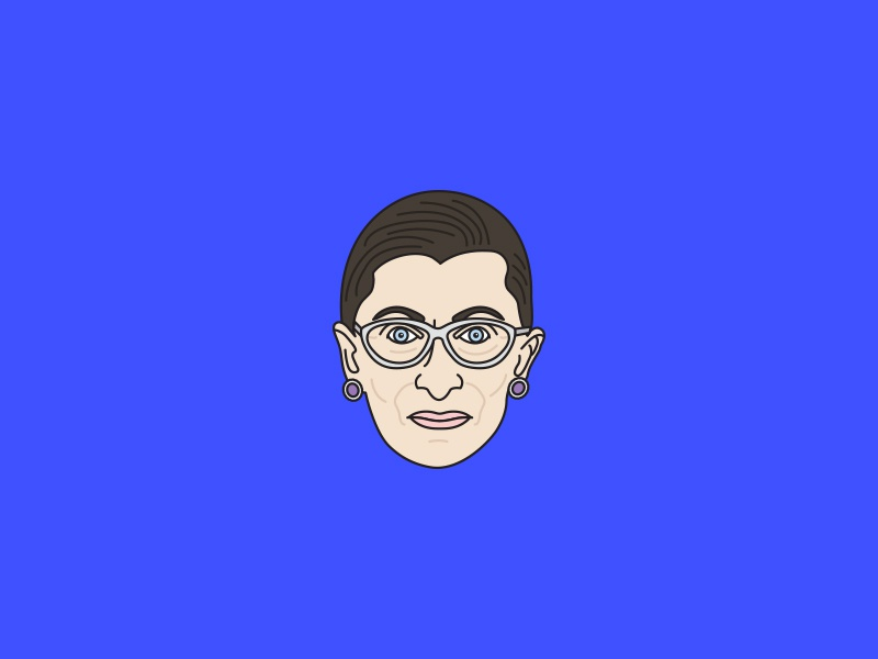 Ruth Bader Ginsburg notorious rgb election 2016 supreme court ruth bader ginsburg ginsburg bader ruth portrait election rgb