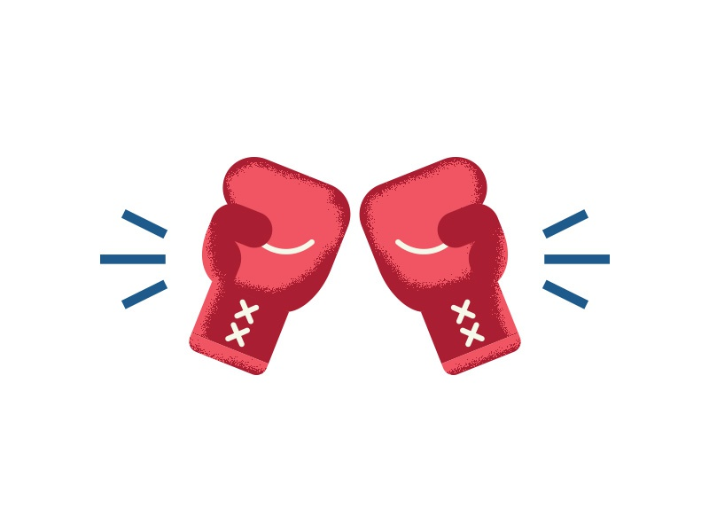 👊🇺🇸 elizabeth warren action figure red white and blue boxing gloves icon fighter fight america
