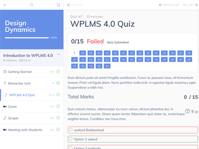 WPLMS v 4.05 Course Pursue online course lms elearning course management buddypress wplms