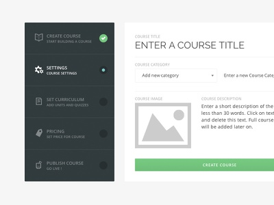Front end course creation in WPLMS themeforest wordpress theme lms learning online course course management e-learning wplms