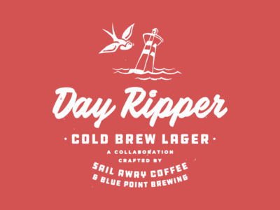 Day Ripper lockup lager cold brew beer coffee