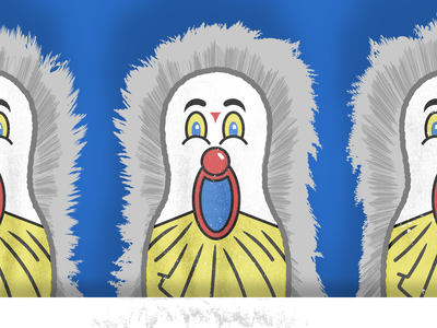 Carnival Clown Game circus fur prizes win games family fun clown theme park amusement park festival carnival
