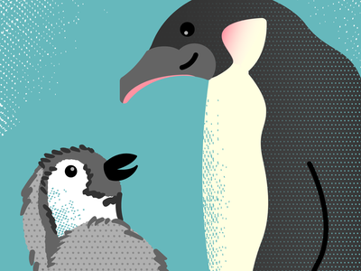 Penguin Family parents parenting wildlife earth nature feathers sea ocean marine animals emperor penguin antarctica antarctic wild animals baby family mother mommy birds penguins
