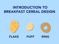 Breakfast Cereal Design
