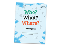 Who? What? Where Drawing Zine