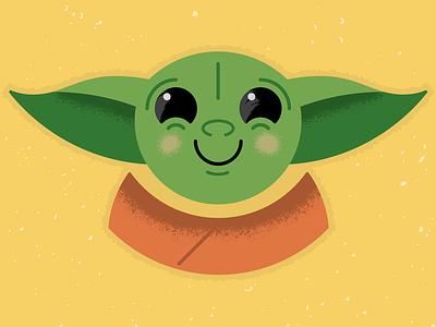 Baby Yoda the child alien for kids cute disney disney plus star wars mandalorian yoda babyyoda