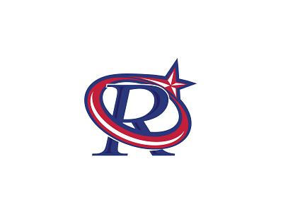 r sport vector branding minimal lettermark icon logo design