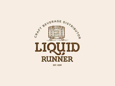 liquor illustration design logo beer branding liquor vintage beer label craft beer can